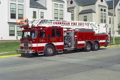 CHAMPAIGN FD   TRUCK 114  PIERCE copy