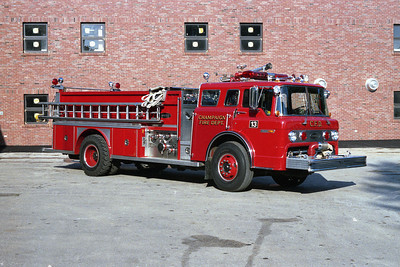 CHAMPAIGN FD  ENGINE 13  FORD