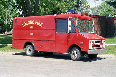 TOLONO FPD  SQUAD 109  1978  CHEVY STEPVAN