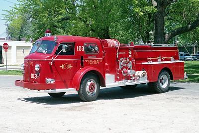 TOLONO FPD  ENGINE 103  1956  ALF 800   750-500   #N-143