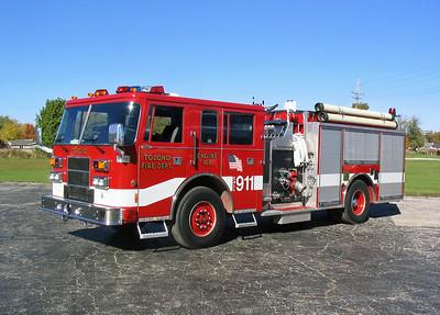 TOLONO FPD  ENGINE 104  1995  PIERCE SABER   1250-1000   E-9028
