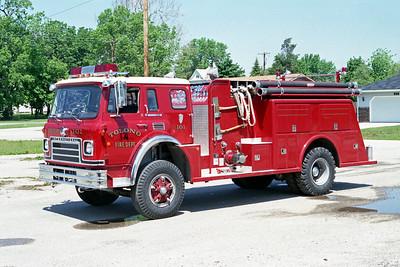 TOLONO FPD  ENGINE 191  1979  IHC CARGOSTAR 1950 - TOWERS   1000-750   #1659