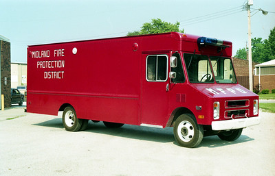 MIDLAND  RESCUE   CHEVY STEPVAN