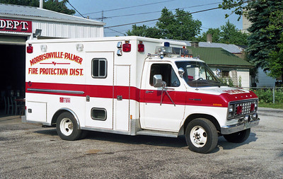 MORRISONVILLE PALMER FPD  RESCUE 2  1982 FORD WHEELEDCOACH