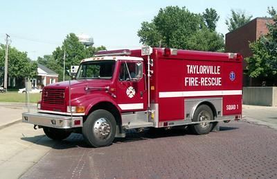 TAYLORVILLE  SQUAD 1  IHC 4900 - HACKNEY