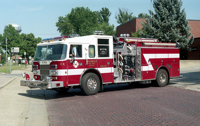 TAYLORVILLE  ENGINE 3  PIERCE SABER