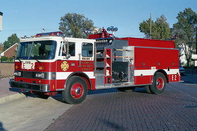 TAYLORVILLE FD  ENGINE  2  1989 PIERCE DASH   1250-1000