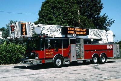 TAYLORVILLE FD  TWR 1804