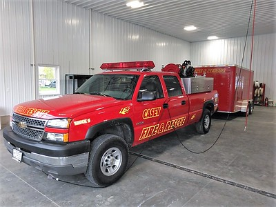 CASEY FD BRUSH 6  CHEVY 3500 4X4 - FD BUILT   JIM HUDDELSON PHOTO