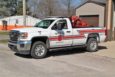 XENIA  BRUSH 5   2014 GMC K3500 - CET   200-225   FRANK WEGLOSKI PHOTO