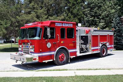 BECKEMEYER WADE FPD  ENGINE 7715  2006  SPARTAN ADVANTAGE - CENTRAL STATES   1250-1000-25   #1380106