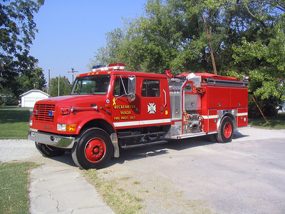 BECKMEYER WADE FPD  ENGINE 7711  1997  IHC 4900 - E-ONE   1250-1000   #19340