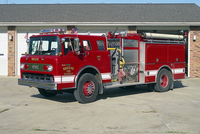 BREESE FPD FORD C-8000 ENGINE 101