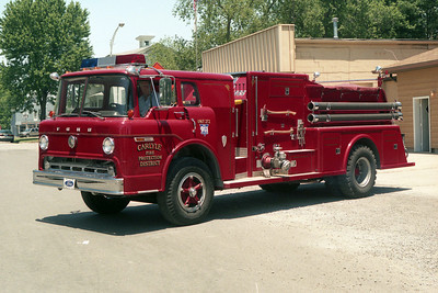 CARLYLE FPD ENGINE 272  FORD C - TOWERS