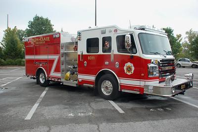 CLIN CLAIR  ENGINE 8311   -750-30     DAVID HORNACEK PHOTO