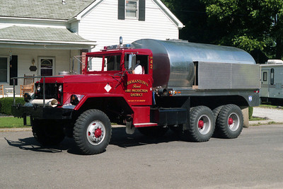 GERMANTOWN TANKER 42  X-DNR MILITARY CHASSIS
