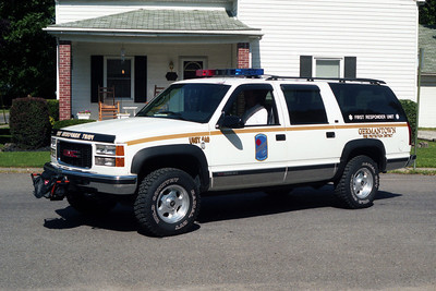 GERMANTOWN FIRST RESPONDER 40  CHEVY SUBURBAN 2500