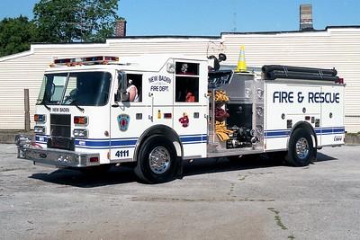 NEW BADEN FPD  ENGINE 4111  2001  PIERCE SABER   1250-750   #12850