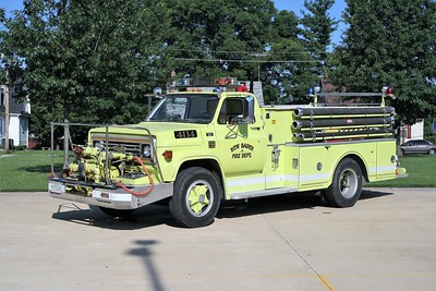NEW BADEN FPD  ENGINE 4114  1976  CHEVY C-65 - HOWE   750-750   #15273-A