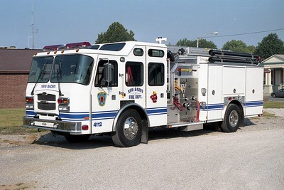 NEW BADEN FPD  ENGINE 4112  2005  E-ONE TYPHOON  1250-750   #31190