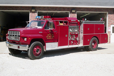 SANTA FE FPD  ENGINE 494  1980  FORD F-800 - FMC   750-500