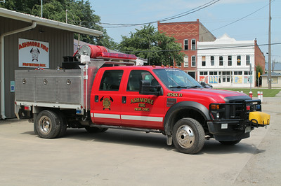ASHMORE ATTACK 13   2007 FORD F-550 - ALEXIS  200 - 300 - 20F  SK731    OFFICERS SIDE   FRANK WEGLOSKI PHOTO