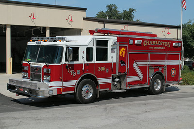 CHARLESTON ENGINE 306  2013 PIERCE SABER PUC  1500 - 750 - 20F   FRANK WEGLOSKI PHOTO