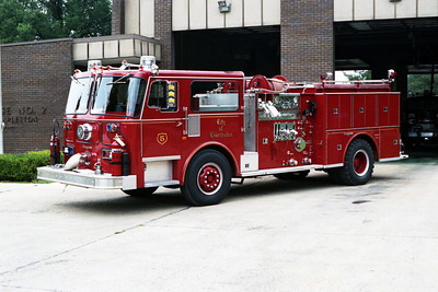 CHARLESTON FD  ENGINE 5  SEAGRAVE