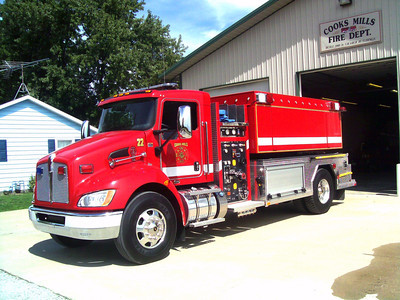 COOKS MILLS FPD  THNK 422  2011 KENWORTH T-370 - FOUTS BROTHERS  500-2200  J SUDKAMP PHOTO