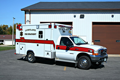 CORTLAND RESCUE 50  1999 FORD F450 - TAYLOR MADE