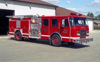CORTLAND FPD ENGINE 1  1997 E-ONE  CYCLONE 11  1250-1000   #17871
