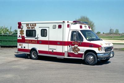 DEKALB  MEDIC 2 1996 FORD E350 - MEDTEC  #96099
