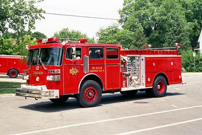 DEKALB  ENGINE 4  1983 SUTPHEN  1500-750   HS-1715
