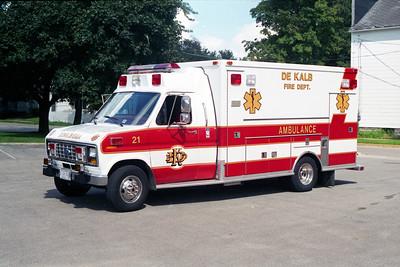 DEKALB  MEDIC 21  1991 FORD E350 - MEDTEC