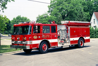 DEKALB  ENGINE 3  1987 PIERCE ARROW  1500-1000   E-3910