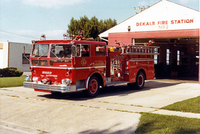 DEKALB  ENGINE 2   1966 WLF ON THE RAMP
