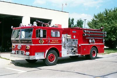 DEKALB  ENGINE 5 1971 WLF AMBASSADOR  1250-1000   # 80-635