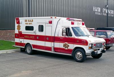 DEKALB  MEDIC 31  1991 FORD E350 - MEDTEC
