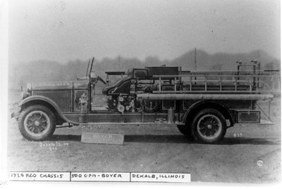 DEKALB  ENGINE  1929 REO - BOYER  500GPM