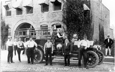 DEKALB FIRE DEPARTMENT  AUTO TRUCK