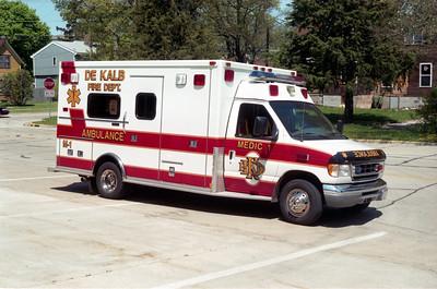 DEKALB  MEDIC 1  1999 FORD E350 - MEDTEC  #99156