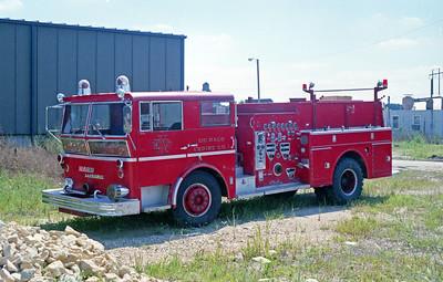DEKALB  ENGINE 1  1966 WLF AMBASSSADOR 1250-750  # 80-138