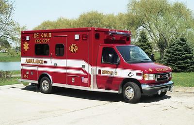 DEKALB  MEDIC 3  2002 FORD E450 - MEDTEC  #22265