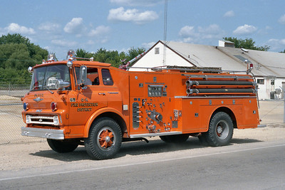 GENOA-KINGSTON FPD  ENGINE 69  1969 CHEVY-HOWE  750-1000  BF