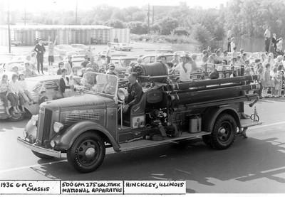 HINCKLEY  ENGINE  1936 GMC - NATIONAL  500-275   JEFF SCHIELKE COLLECTION