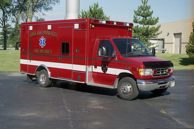 KIRKLAND AMBULANCE  I-25 RED