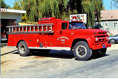 LEE COMMUNITY  ENGINE 3   CHEVY - JOHN BEAN