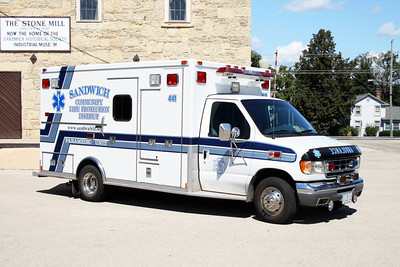 SANDWICH COMMUNITY FPD AMBULANCE 461