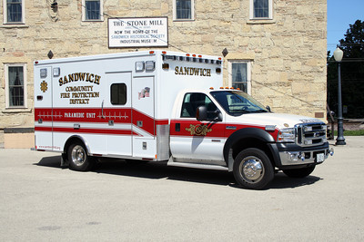 SANDWICH COMMUNITY FPD AMBULANCE FORD F450