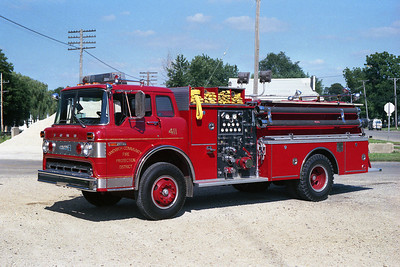 SANDWICH FPD ENGINE 411 RED